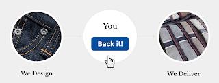 Back itボタンによる注文方法の説明