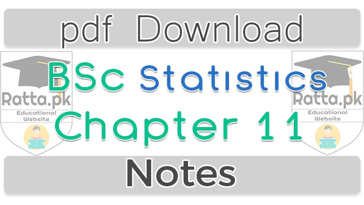 Bsc Statistics Chapter 11 Multiple Regression and Correlation Notes pdf