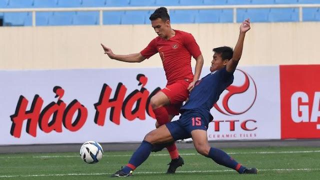 Dihajar Thailand, Timnas Indonesia U-23 Gagal Keluar dari Tekanan