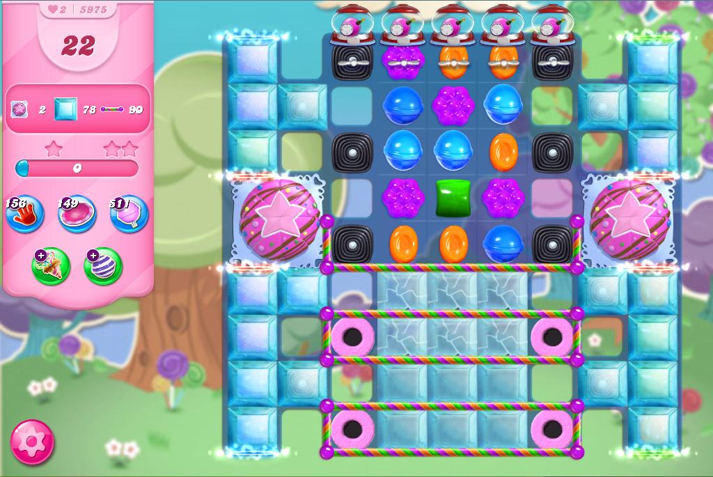 Candy Crush Saga level 5975