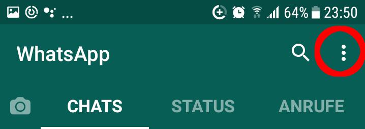 Profilbild whatsapp ändern