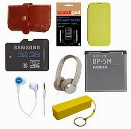 Huge Discount Upto 98%  on Mobile Accessories (Cases, Covers, Screen Guards, Headphones, Memory Cards, Bluetooth Headsets & much more) @ Flipkart