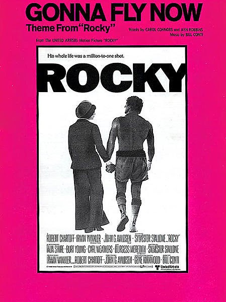 Bill Conti Gonna Fly Now fanfare, Rocky fanfare