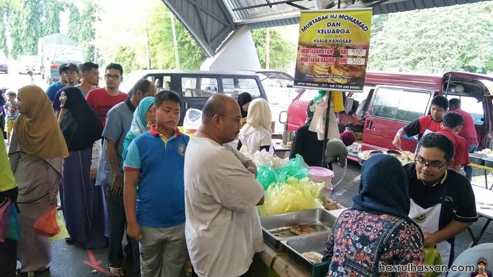 Murtabak bazar ramadan Arena Square Kuala Kangsar