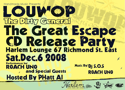 The Great Escape Release Party