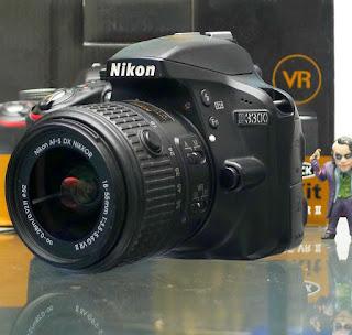 Kamera DSLR Nikon D3300 Second Di Malang