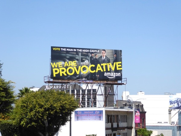 Man in the High Castle Provocative Emmy billboard