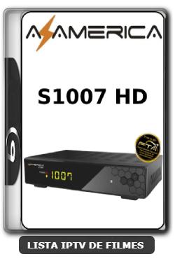 Azamerica S1007 HD Nova Atualização Estabilidade de Conexão com os Serviços de IKS V1.09.21658 - 25-06-2020