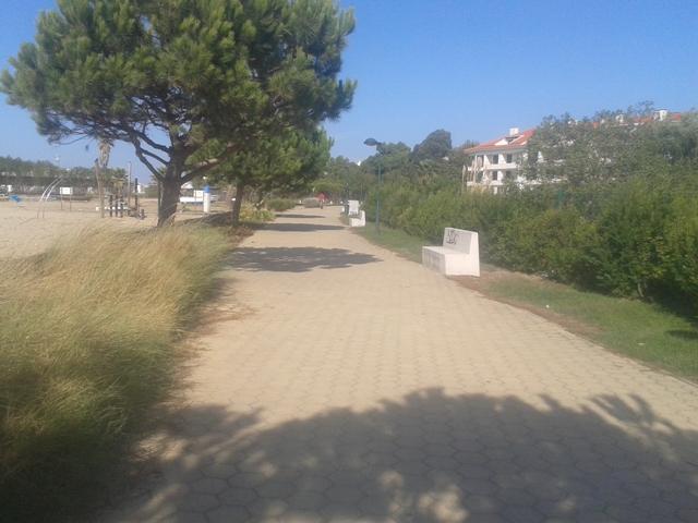 Passear na Margina da Praia dos Moinhos
