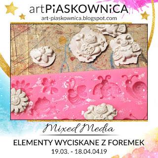 MIXED MEDIA - masy plastyczne - foremki