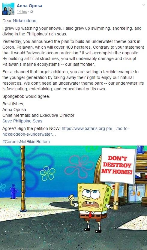 Nickelodeon Plans To Build Philippine Underwater Theme Park In Palawan!