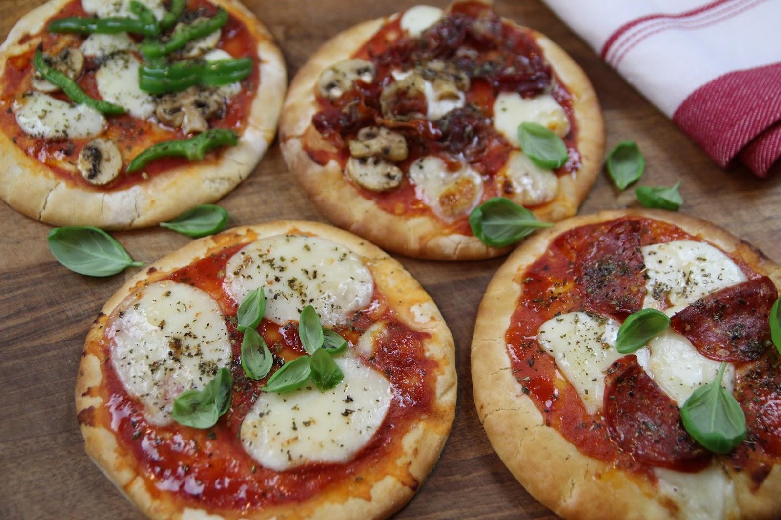 Italian Pizettes