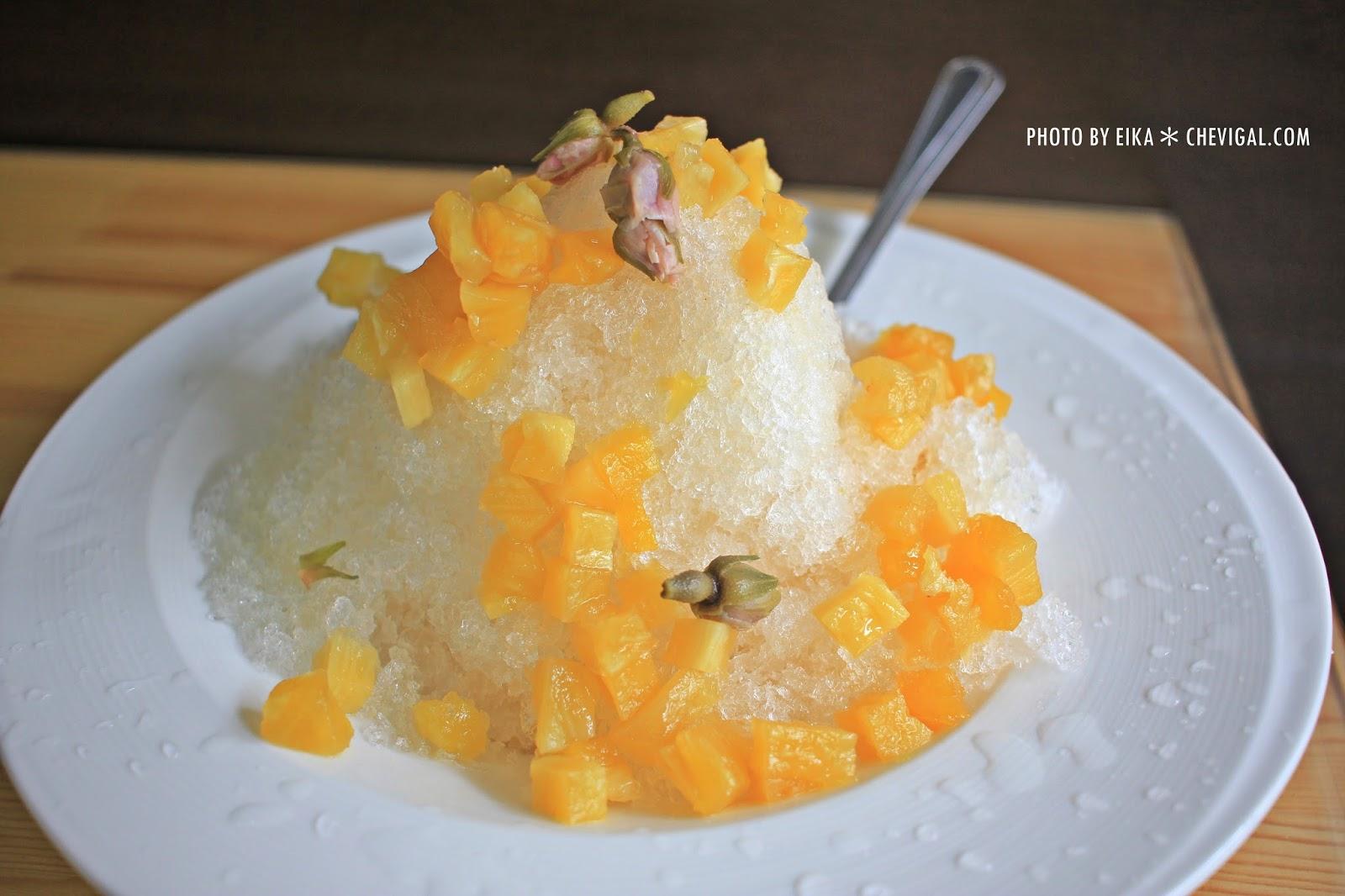 IMG 0145 - 台中烏日│蔡冰甜品。雪山上的愛情最純粹。全台獨有的鳳梨玫瑰冰。等你來感受芬芳原味
