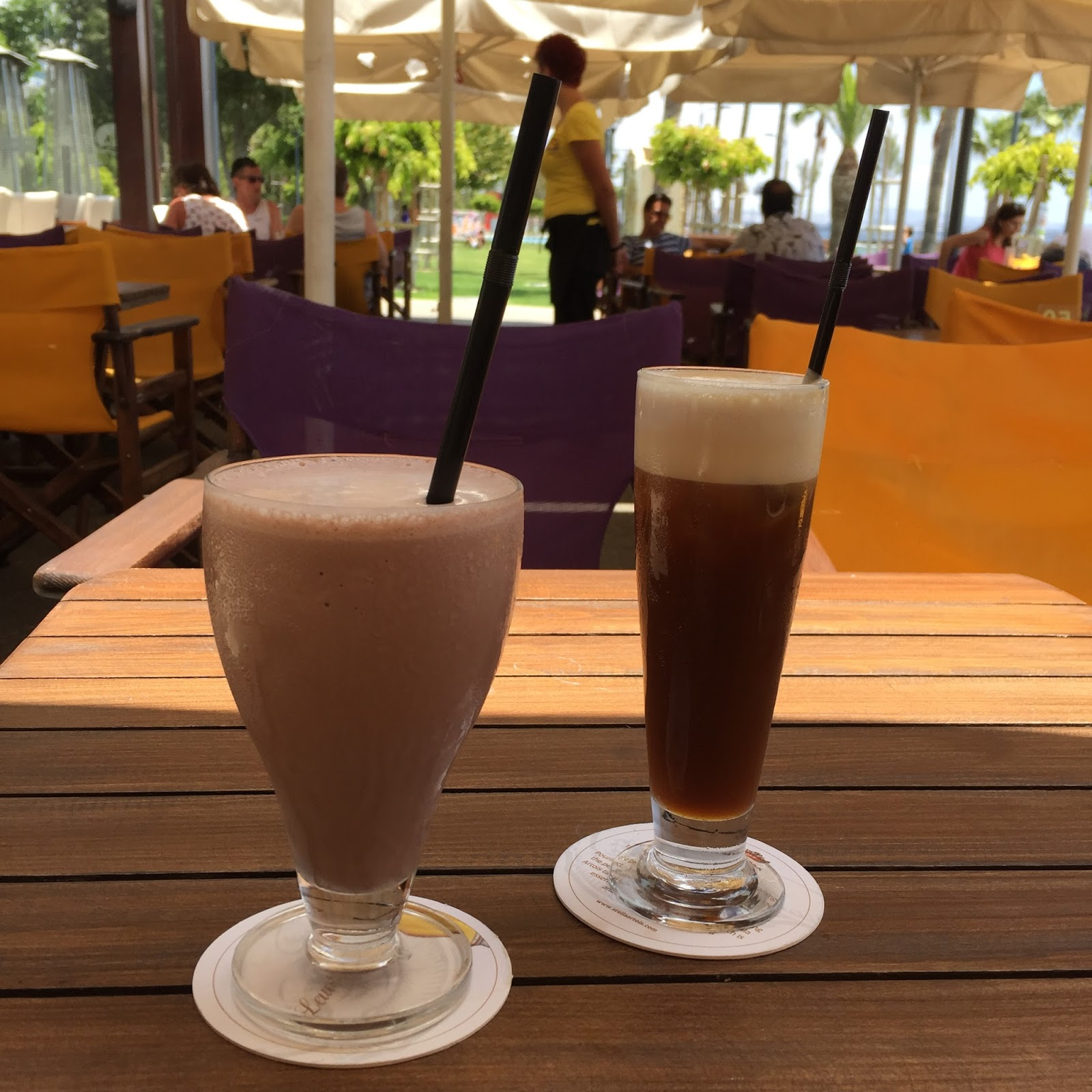 Chocolate Milkshake and Freddo Cappucino