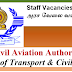 Vacancies in Civil Aviation Authority | Ministry of Transport & Civil Aviation