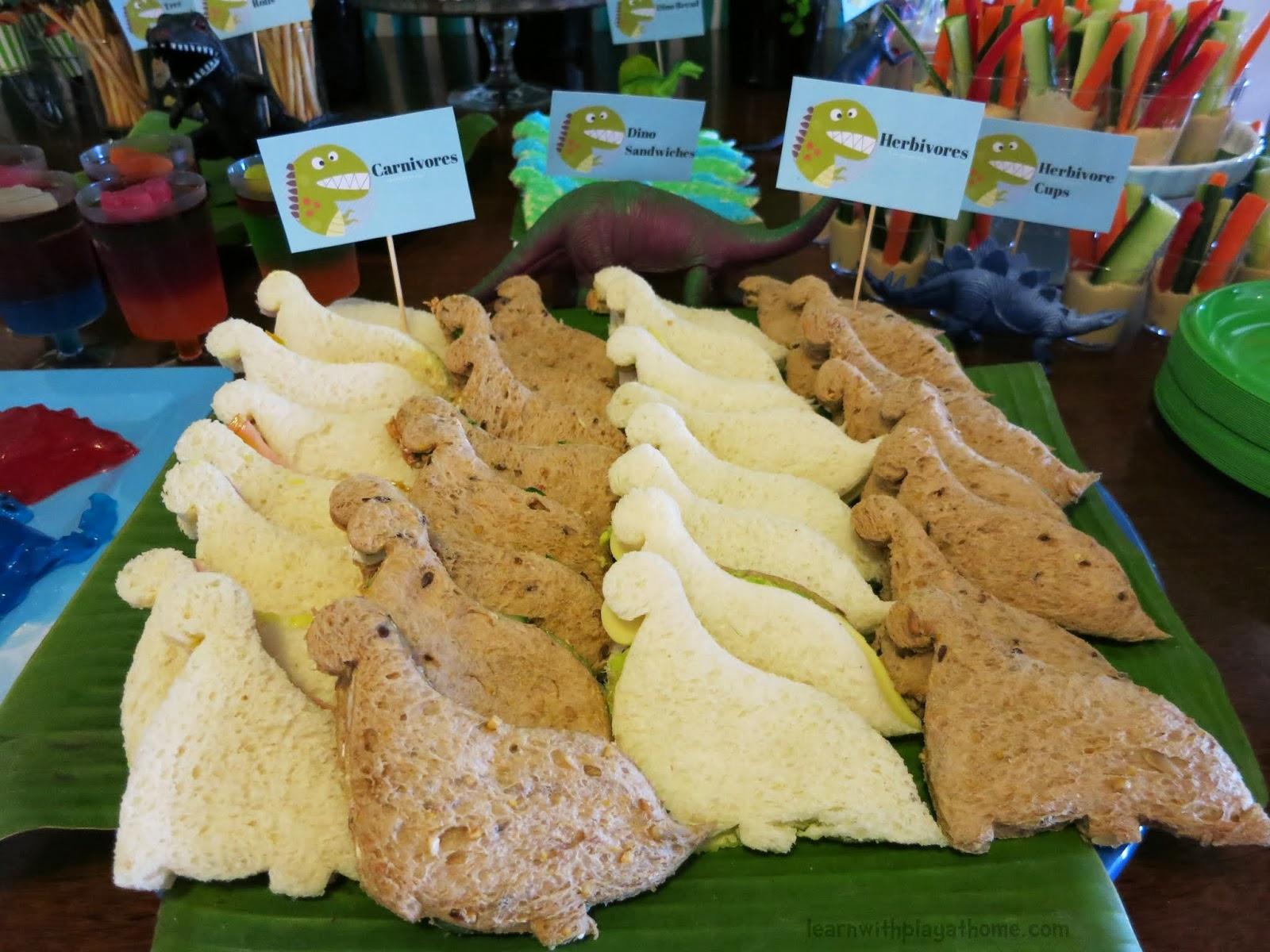 Ideas For Dinosaur Party Food