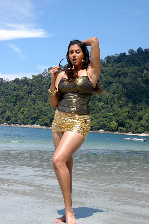 Namitha Kapoor's Super Curvy Hot Figure Show On The Beach In Bikini