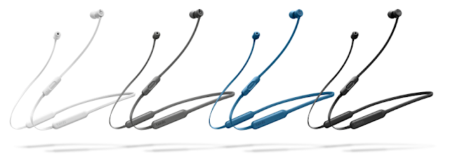 apple's beats X wirelss earbuds