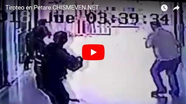 Un tiroteo grabado en el Centro Comercial Súper Centro de Petare