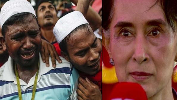 رئيسة بورما تفاجئ العالم الإسلامي بهذا الموقف غير المسبوق بخصوص المجازر ضد المسلمين