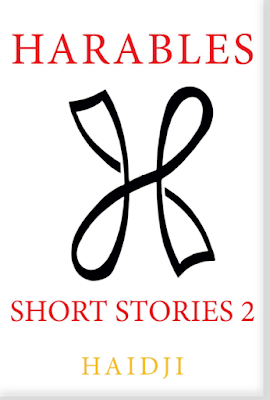 Haidji, Harables: Short Stories 2, fiction, short stories, book review, On My Kindle Book Reviews
