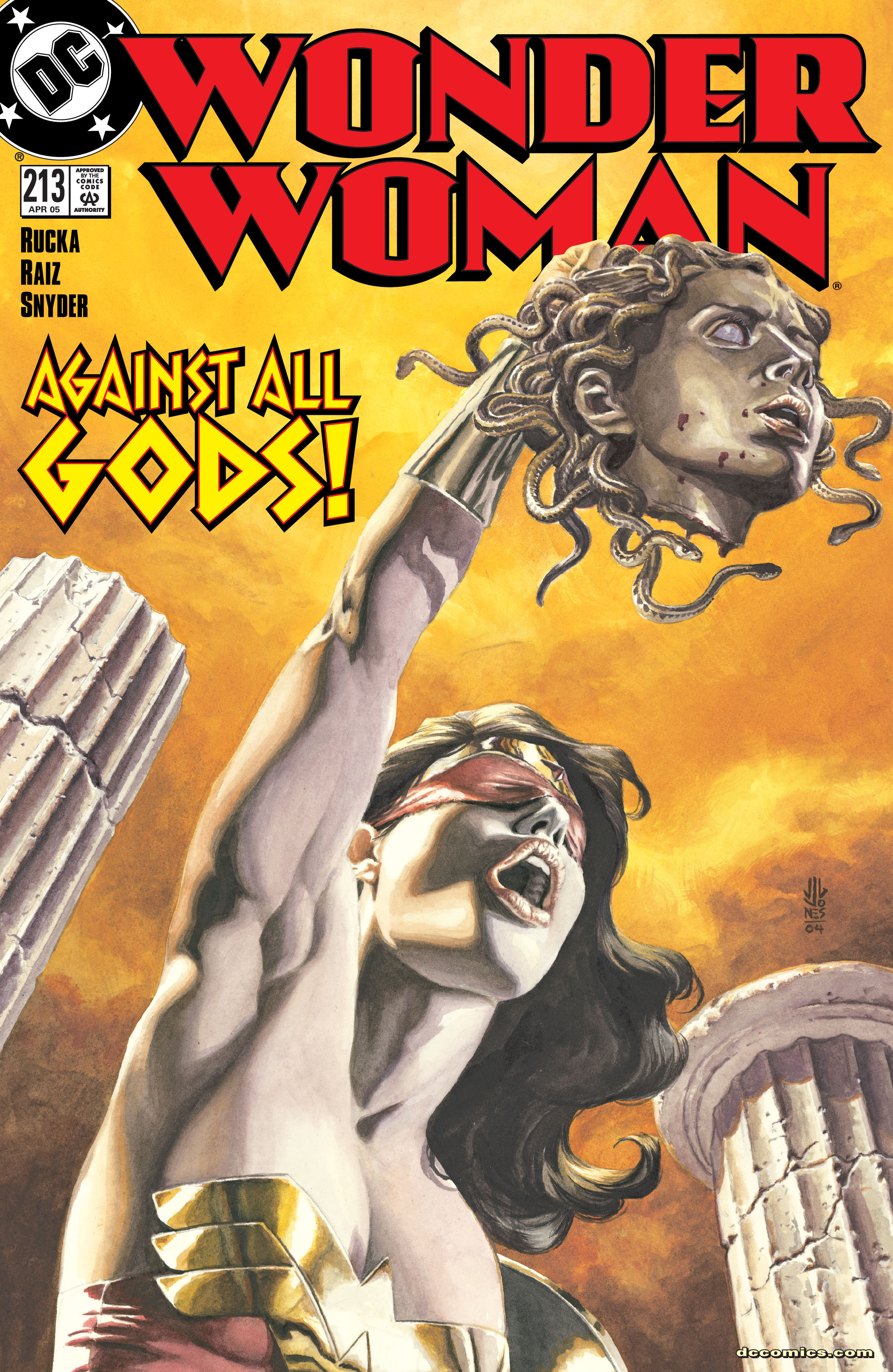 Read online Wonder Woman (1987) comic -  Issue #213 - 1