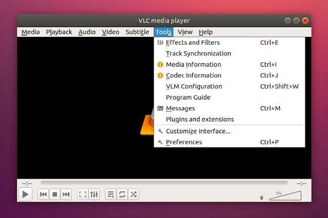 vlc qt5 ugly Ubuntu 18.04