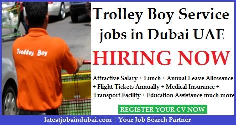Trolley Boy jobs in Dubai Airport