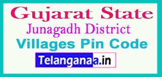 Junagadh District Pin Codes in Gujarat State