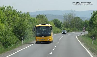 Droga E77, Węgry, Kravtex Credo EC11, Volánbusz Budapest