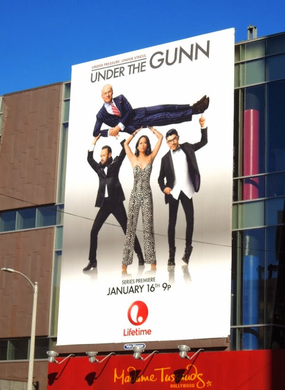 Under the Gunn series premiere billboard