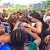 Chika Ike pays visit to families who lost their soldier dads(Photos)