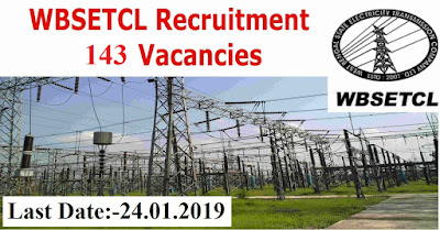 WBSETCL Assistant Engineer, Manager Recruitment 2019 Apply Now for 143 Posts