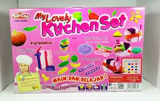 Mainan Anak Perempuan 6 tahun, fun doh kitchen set, mainan anak perempuan 2 tahun, mainan anak perempuan 3 tahun, mainan anak-anak masak-masakan, mainan anak perempuan masak masakan,
