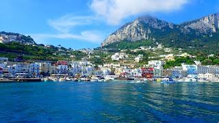 Capri Harbor Marina Grande Italy