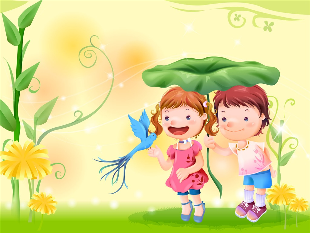 Cute Cartoon Backgrounds Free Download: Cool WallPaper: 可愛圖案 Cute Cartoon Wallpaper 01 童年卡通可愛桌布 01