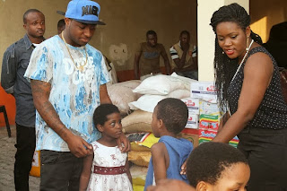 davido donate orphanage homes lagos