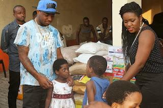 davido donate orphanage homes lagos