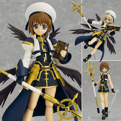 FIGURA HAYATE YAGAMI FIGMA The MOVIE 2nd A's Ver. MAGICAL GIRL LYRICAL NANOHA The MOVIE 2nd A's MAX FACTORY
