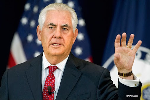 "Rex Tillerson: ""You are fired!"" The former Secretary of state, Rex Tillerson, was fired by U.S. President..."