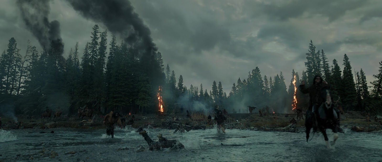 Captura de The Revenant (2015) 4k UltraHD x265 HEVC Latino – Ingles