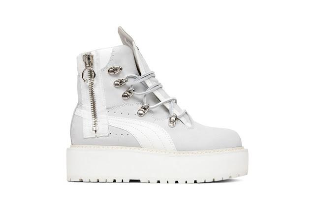 rihanna fenty sneaker boot melbourne central riri badgal melissa forde shoe