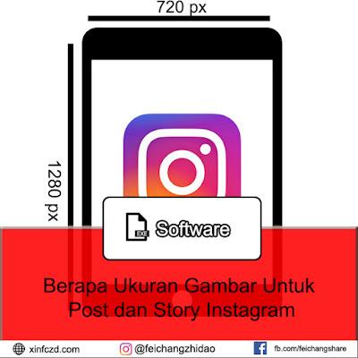 Berapa Ukuran Gambar Untuk Post dan Story Instagram