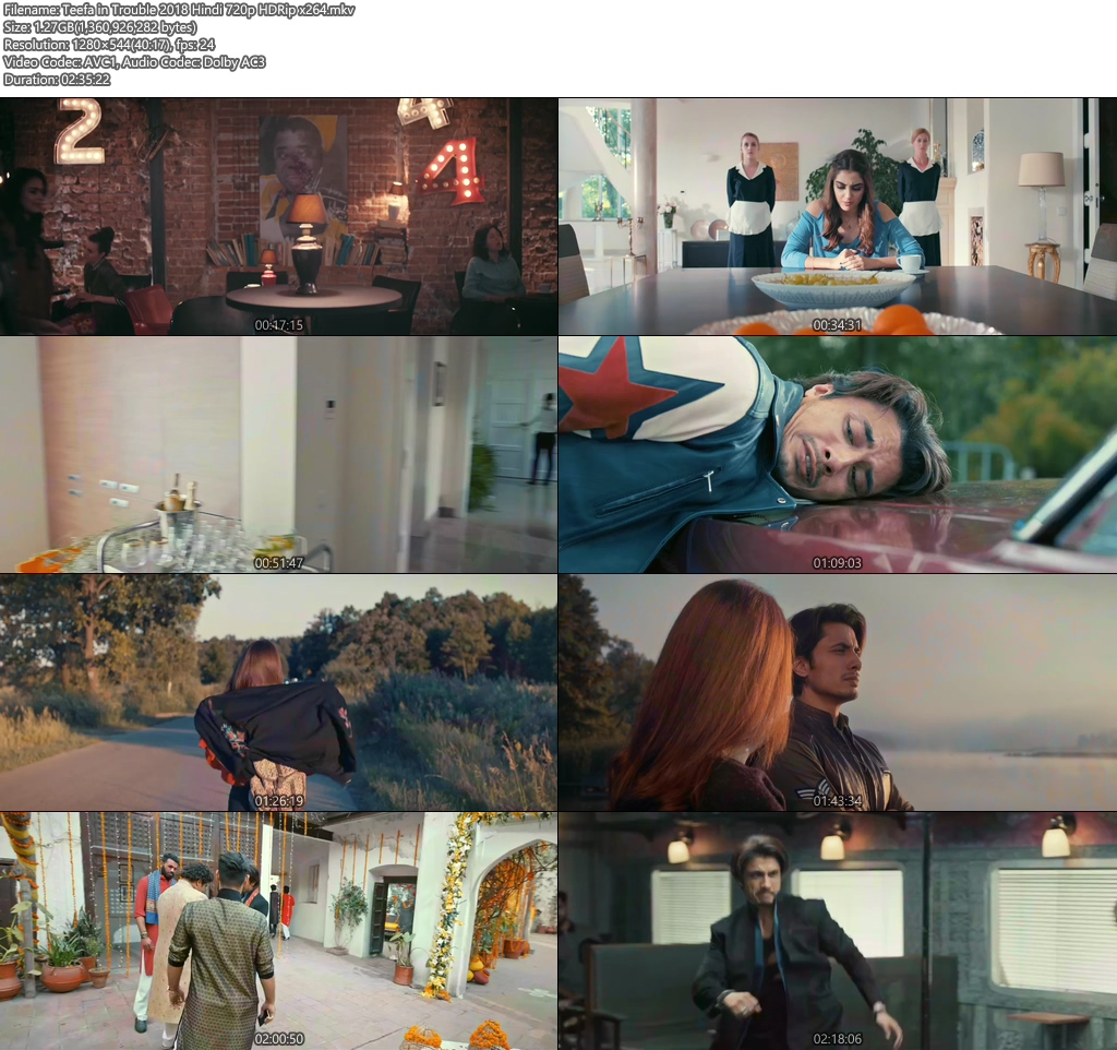 Teefa in Trouble 2018 Hindi 720p HDRip x264 | 480p 300MB | 100MB HEVC Screenshot