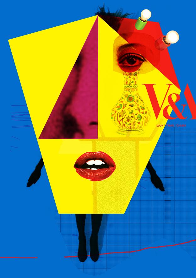 Kingdom of Rubble: V&A Postmodernism Poster