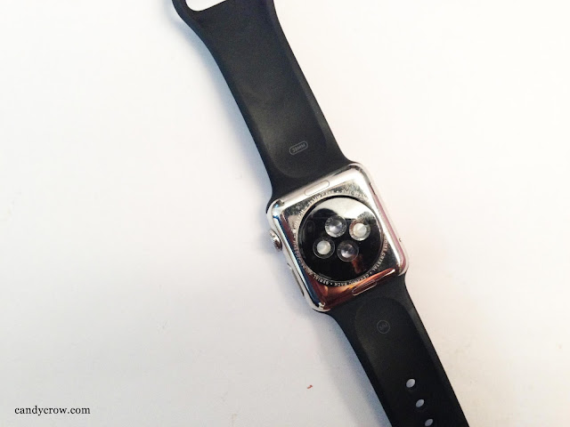 Apple watch review backside