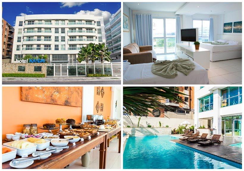 Hotéis em Cabo Frio - dica de onde se hospedar - Hotel Mandai