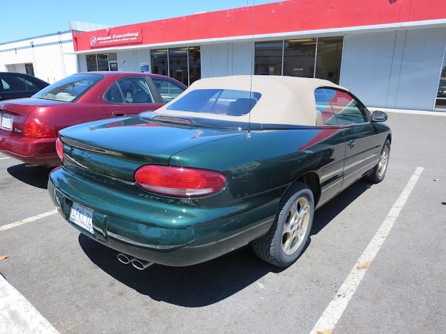 Chrysler Sebring Convertible ready for cruising after a whole car paint job from Almost Everything Auto Body