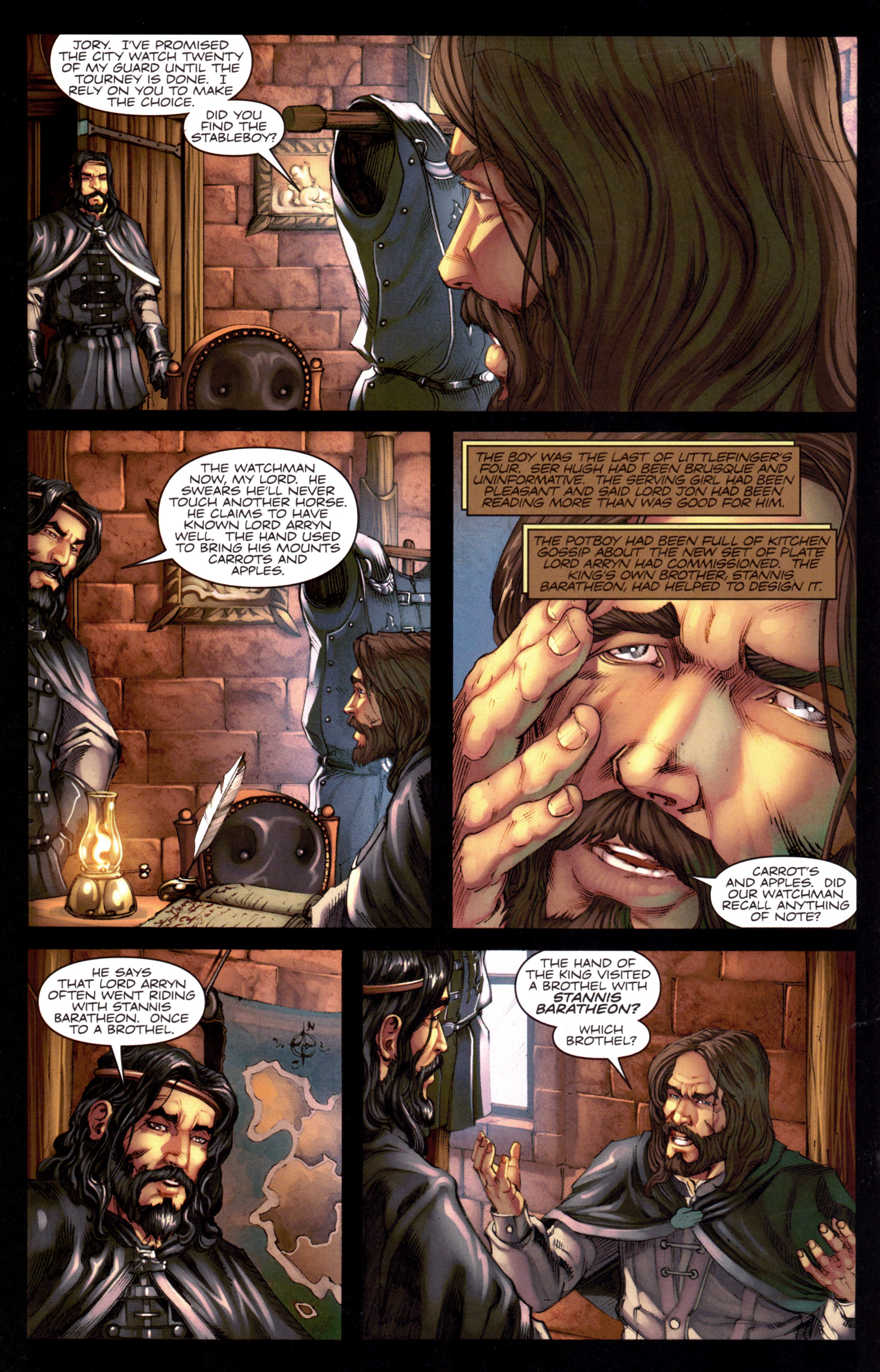 Read online A Game Of Thrones comic -  Issue #8 - 26