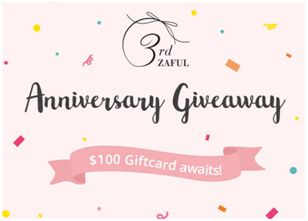 Anniversary Zaful Giveaways